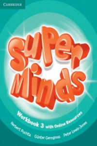 Super Minds Level 3 Workbook with Online Resources - 2840800846