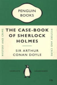 Penguin TriBand Notebook: The Casebook of Sherlock Holmes - 2826649439