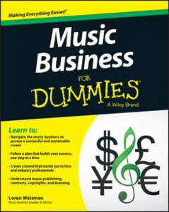 Music Business for Dummies - 2873364676