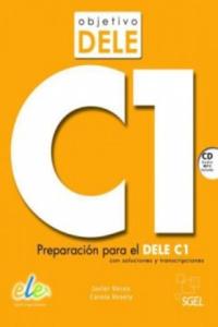 Objetivo DELE C1, m. Audio-CD - 2826645629