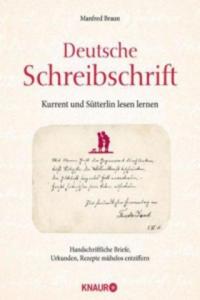 Deutsche Schreibschrift - Kurrent und Sütterlin lesen lernen - 2826939049