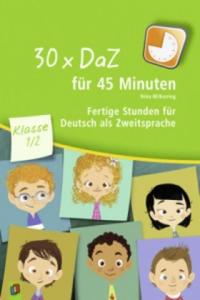 30 x DaZ für 45 Minuten - Klasse 1/2 - 2826908756