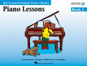 Piano Lessons Book 1 - Book/Enhanced CD Pack - 2837512080