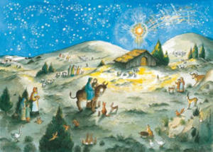 Away in a Manger Advent Calendar - 2854504383
