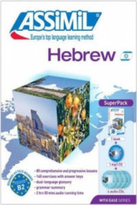 ASSiMiL Hebrew, Lehrbuch, m. 4 Audio-CDs u. 1 MP3-CD - 2869422002