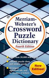Merriam Webster's Crossword Puzzle Dictionary - 2884957647