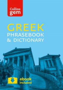 Collins Gem Greek Phrasebook and Dictionary - 2854495444