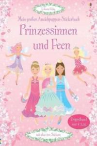 Mein großes Anziehpuppen-Stickerbuch: Prinzessinnen und Feen - 2826711060