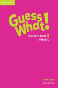 Guess What! Level 5 Teacher's Book with DVD British English - 2873774592