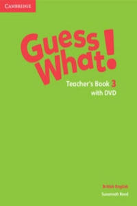 Guess What! Level 3 Teacher's Book with DVD British English - 2893452922