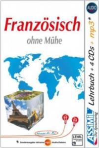 Assimil Französisch ohne Mühe, Lehrbuch + 4 Audio-CDs + 1 mp3-CD - 2826867444