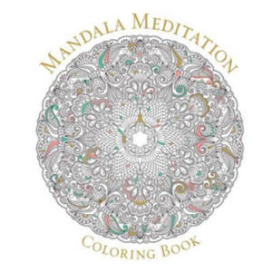 Mandala Meditation Coloring Book - 2826843606