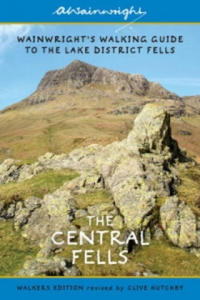 Wainwright's Illustrated Walking Guide to the Lake District Book 3: Central Fells - 2854221357