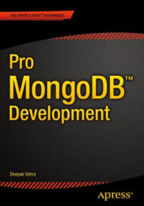 Pro MongoDB Development - 2836338433