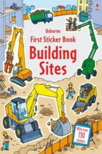 First Sticker Book Building Sites - 2905324239
