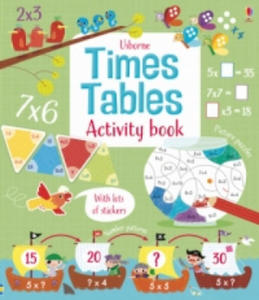 Times Tables Activity Book - 2854441843