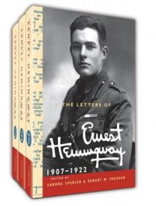 Letters of Ernest Hemingway Hardback Set Volumes 1-3: Volume 1-3 - 2903328812