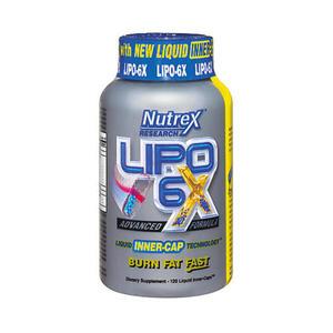NUTREX Lipo 6X 120 kap. - 766577101