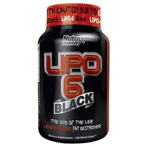 NUTREX Lipo 6 BLACK 120 kap. - 766577198