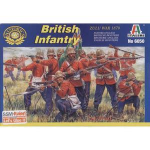 Italeri-6050 Brytyjska piechota - Wojna Zulu - 2823906748