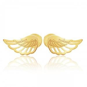 Kolczyki skrzydła sztyft - 2852702282