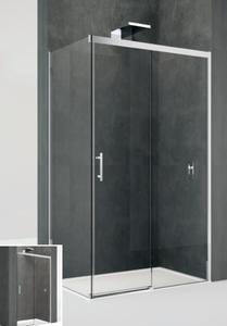 Drzwi prysznicowe przesuwne Kali 2P 105 cm produkcji Novellini KALI2P104-1B - 2884153772