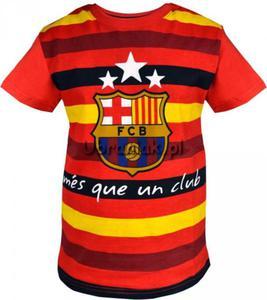 Tshirt FC Barcelona pasy czerwony - 2832968800