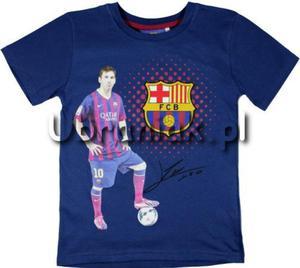 T-shirt FC Barcelona Autograf Leo Messi granat - 2844892609