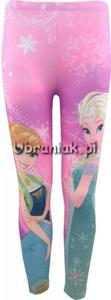 Legginsy Frozen Kraina Lodu Elsa i Anna - 2846606314