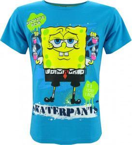 T-shirt Sponge Bob Kanciastoporty niebieski - 2848580563