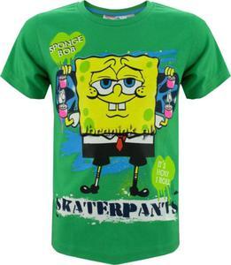 T-shirt Sponge Bob Kanciastoporty zielony - 2848580564