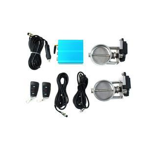Zestaw przepustnicy wydechu elektryczny PRO 76mm Dual EP-EP-112 - 2862593316