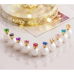 Kolczyki Kule Triball Diorki Z Kryszta - 2858849741