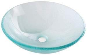 BEAUTY ICE Umywalka szklana 42x14 cm 2501-04 - 2826525831