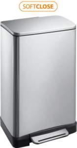 E-BIN Kosz na śmieci, 30 litrów, prostokątny DR205 - 2826528095