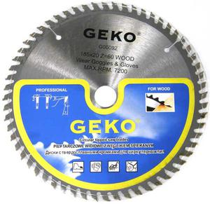 TARCZA DO DREWNA 185 x20 mm T60 Geko