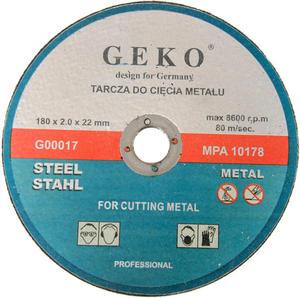 TARCZE DO CIĘCIA 180 x 2 x 22,2 mm GEKO - 1609920048