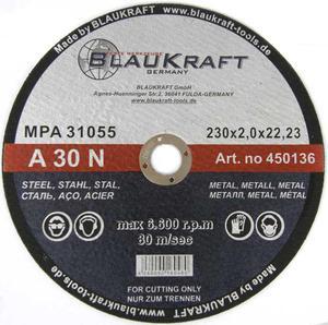 TARCZE DO CIĘCIA 230 x 2,0 x 22,2 mm BLAUKRAFT