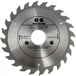 TARCZA DO DREWNA 160 x 32 mm T24 INTER CRAFT