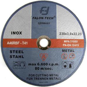 TARCZE DO CIĘCIA 230 x 3,0 x 22,2 Falon Tech