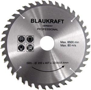 TARCZA DO DREWNA 200 x 32 / 30 / 25,4 mm T40 BLAUKRAFT