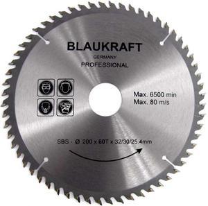 TARCZA DO DREWNA 200 x 32 / 30 / 25,4 mm T60 BLAUKRAFT