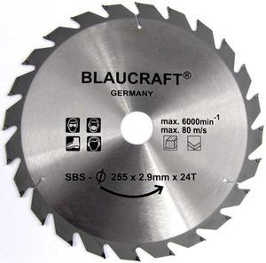 TARCZA DO DREWNA 255 x 32 / 30 / 25,4 mm T24 BLAUKRAFT