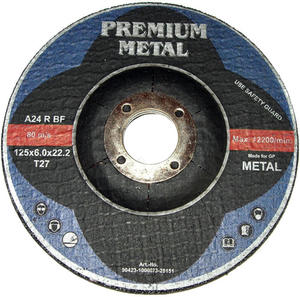 TARCZE DO CI�CIA METALU 125 x 6 mm PREMIUM METAL