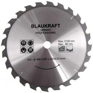 TARCZA DO DREWNA 400 x 32 / 30 / 25,4 mm T24 BLAUKRAFT