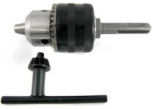 UCHWYT WIERTARSKI 1,5-13 mm MOCOWANIE  1/2  + ADAPTER SDS PLUS