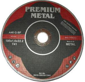 TRACZE DO CIĘCIA METALU 180 x 1,6 x 22,2 mm PREMIUM METAL