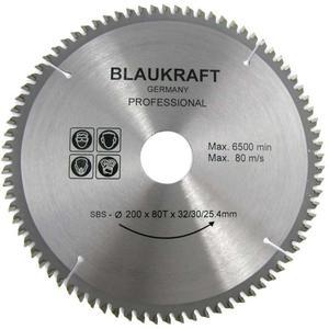 TARCZA DO DREWNA 200 x 32 / 30 / 25,4 mm T80 BLAUKRAFT