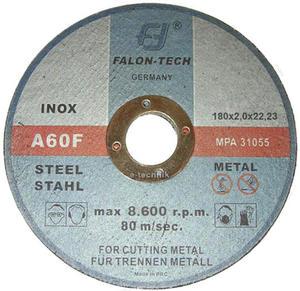 TARCZE DO CIĘCIA 180 x 2 x 22,2 mm INOX FALON TECH