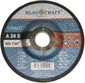 TARCZE DO CIĘCIA 125 x 6 x 22,2 mm BLAUKRAFT